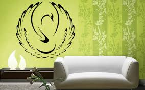 Wall Stickers Vinyl Decal Animal White Black Swan Bird Wall Decor Mural Ig019 For Sale Online