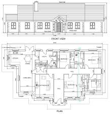 view house plans bungalows y and