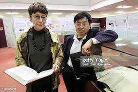 Priscilla Roberts and Xu Guoqi, Professor, School of Humanities,... News  Photo - Getty Images