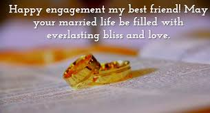 funny engagement wishes for a friend