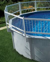 Universal Resin Above Ground Pool Fence