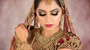 asian bridal hair and makeup training