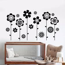 Beautiful Flower Vinyl Wall Decal Nursery Flowers Garden Nature Girl Room Stickers Diy Mural Removable Wall Sticker Design La886 Girl Room Stickers Designer Wall Stickerswall Sticker Aliexpress