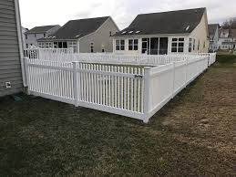 Mcgee Fence 4 Pvc White Vinyl Classic Picket Fence Facebook