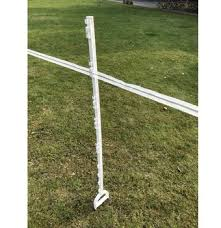 Electric Fence Plastic Post Stake Insulator 120cm White Pp Galvanized Steel Buy Electric Fence Post Stake Insulator Posts Product On Alibaba Com
