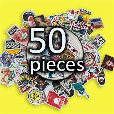 50 Graffiti Stickers No Repeat Travel Box Stickers Notebook Luggage Skateboards Graffiti Bags Car Stickers Wish