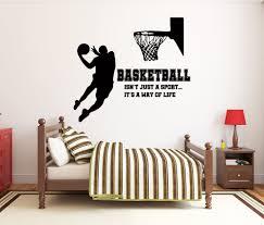 Basketball Wall Decal Basketball Wall Decor Custom Name Etsy Basketball Wall Decals Basketball Wall Decor Basketball Wall
