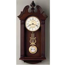 bulova westminster chime wall clock