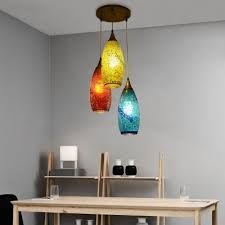 3 lights multi light pendant bohemia
