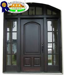 fiberglass front door with extra wide