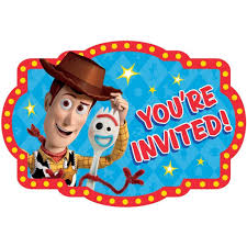 Toy Story 4 Birthday Party Supplies 2019 Fiesta