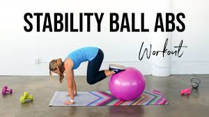 ility ball ab workout ab