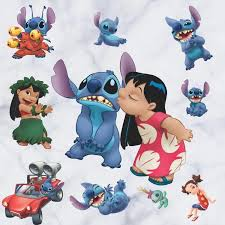 Stitch Wall Decal The Treasure Thrift