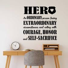 Office Wall Decal Police Officer Hero Police Station Office Etsy