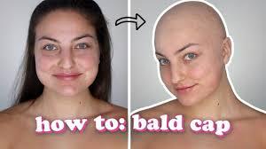 paint a bald cap sfx makeup tutorial