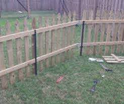 Building A Semi Permanent Fence Backyard Fences Front Yard Fence Building A Fence