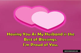 proud of my husband quotes sweet love messages