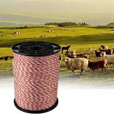 2mm 500m Electric Fence Poly Wire Red White Polywire With Steel Wire Poly Rope For Horse Sheep Fencing Ultra Low Resistance Hot Wire Lazada Ph