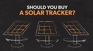 should you a solar tracker no