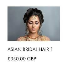 professional asian bridal hair makeup