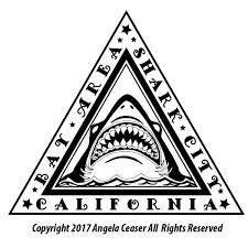 Color Shark City Bay Area California Emblem Vinyl Sticker Decal Stickem Vinyl Decals And Stickers Vinyl Decals Vinyl Car Stickers Vinyl Decal Stickers