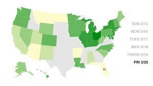 Florida lagged behind dozens of states ...