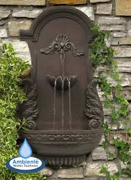 h83cm angel wings wall fountain by