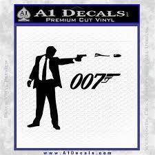 007 James Bond Bullet Decal Sticker A1 Decals