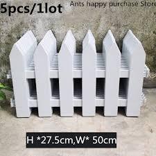 plastic garden fence easy assemble