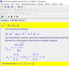 solve polynomial equation by factoring