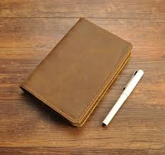 small notebook field notes leather