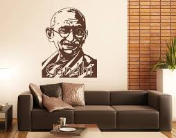 Gandhi Wall Decal Style And Apply