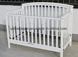 China European White Sofa Bed To Send Small Wholesale Solid Wood Crib Fence Children Bed Multifunctional Baby Bed Can Stick A Card M X3705 China Baby Bed Wooden Bed