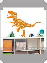 Alphabet Wall Decal Abc Playroom Wall Decal Dinosaur Wall Etsy Playroom Wall Decals Kids Vinyl Wall Art Playroom Wall
