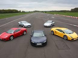 the lowdown on car experience days