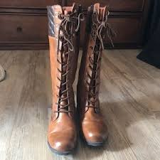 Adriana New York Shoes   Adriana Parker Brown Laceup Boots   Poshmark