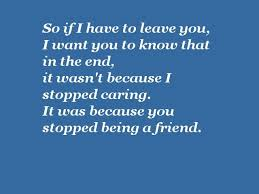 friendship quotes end of friendship quotes friend end