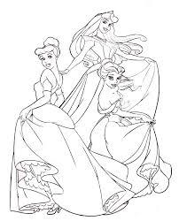 dibujos de princesas disney para