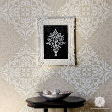 European Damask Wall Stencils For Floors Diy Tile Royal Design Studio Stencils