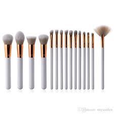 makeup brush set white foundation blush