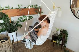 diy hanging macrame chair the sorry