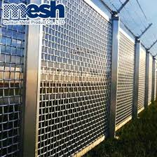 China Stainless Steel Woven Metal Decorative Lock Crimped Wire Mesh China Crimped Wire Mesh Decorative Crimped Woven Mesh