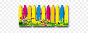 Colorful Fences Clipart Clipart Fence Flower Free Transparent Png Clipart Images Download