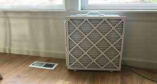 diy air filter using a box fan