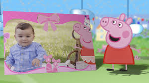 Invitacion Virtual De Cumpleanos Peppa Pig Youtube