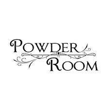 Powder Room Wall Decals Wayfair