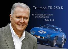 Peter Brock and the Amazing Triumph K Car
