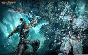 mortal kombat 9 sub zero wallpapers