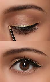 simple eye makeup eyeliner and mascara
