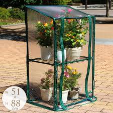 two steps of home plastic greenhouse